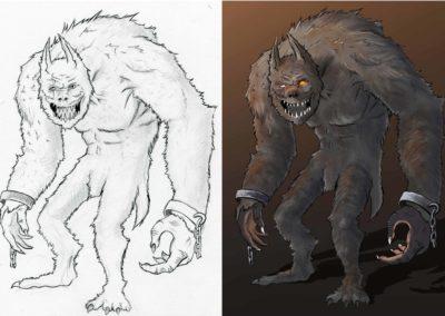 werewolfsteps